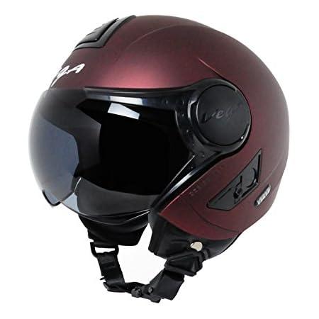 Vega Verve Open Face Helmet (Women's, Burgundy, M)