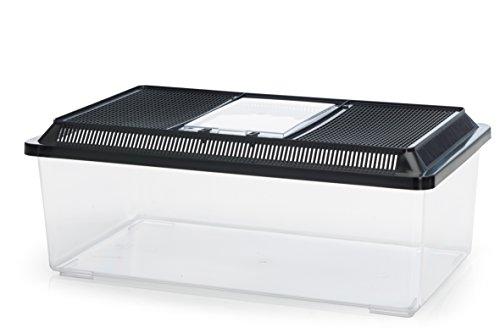 Fauna-Box Low schwarz 50,5 x 30,5 x 18 cm; 18,0 ltr.