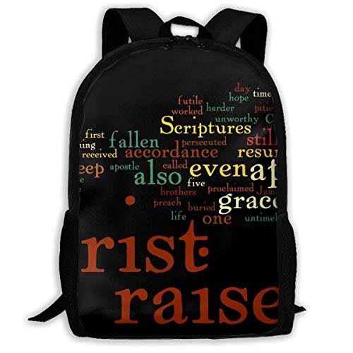 HOJJP ñ mochila escolar von ruedas Travel Backpack Laptop Backpack Large Diaper Bag - EasterBackpack School Backpack for Women & Men