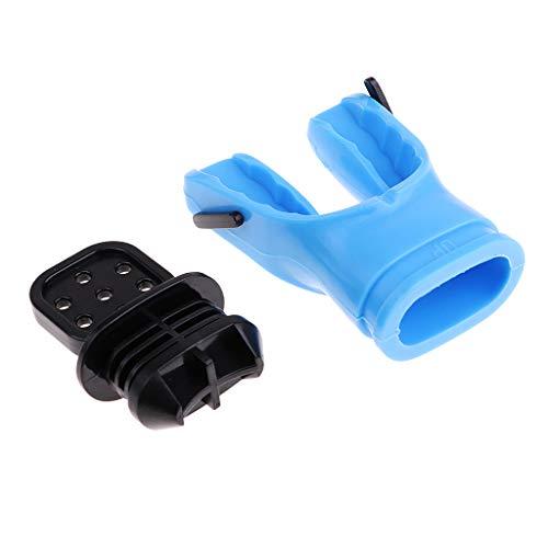 F Fityle Scuba Dive Regulator Octopus Boquillas de Repuesto con Regulador Tie Wrap - Azul