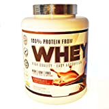 JLN Whey Concentrado de Suero Aislado de Proteína; Suplemento Deportivo;   Sabor Helado de Chocolate 2 kg
