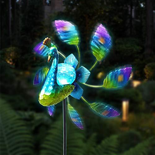 Untimaty Solar Wind Spinner Garden...