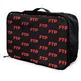 Red FTP レッドFTP キャリーオンバッグ 折りたたみ ボストンバッグ おしゃれ 大容量 防水 軽量 機内持ち込み スーツケース固定可 旅行バッグ トラベルバッグ ハンドバッグ レディース メンズ 兼用 PC収納 出張 旅行 便利グッズ