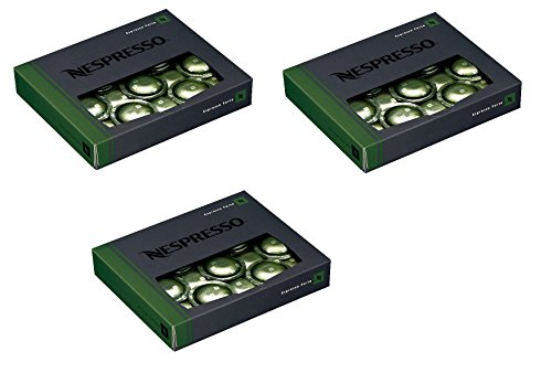 50 Nespresso Espresso Forte Coffee Cartridges Pro NEW (3 boxes - 150 capsules)