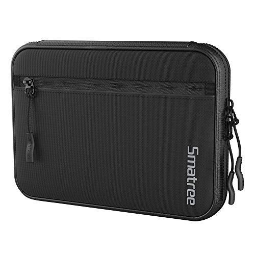 Smatree Electronic Cord Organizer Travel Universal Case Gadget Gear Storage Pouch Compatible with 7.9 inches iPad Mini /Apple Pencil /iPhone XR /iPhone X /iPhone 8 /Kindle /Hard Drive /Memory Cards
