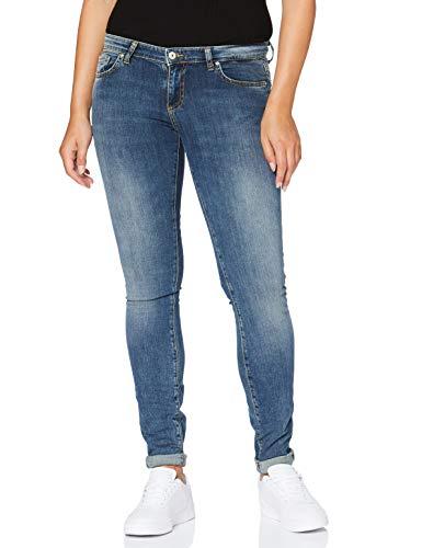 LTB Jeans Damen Clara Slim Jeans, 51069 Nuage WASH, W28/L34