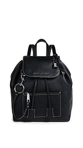 Marc Jacobs The Bold Grind Backpack Black - Zaino - nero - cuoio - Donna - taglia unica