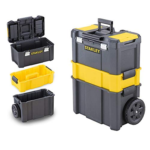 STANLEY STST1-80151 Essential Rolling Workshop - Black