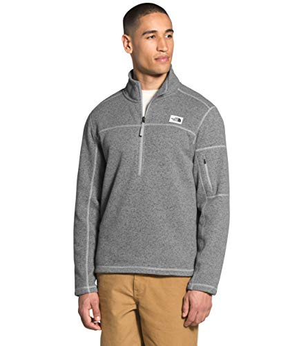 The North Face Men's Gordon Lyons ¼ Zip, TNF Medium Grey Heather, M