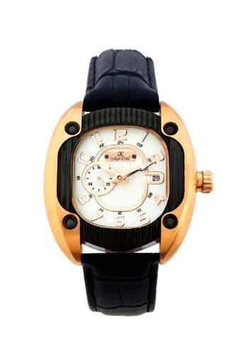 Oskar Emil titanrg – Reloj para Hombres, Correa de Cuero