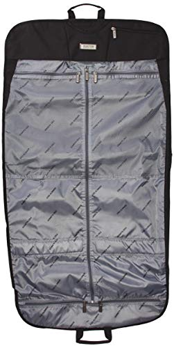 Kenneth Cole Reaction Folding Travel Garment Sleeve, Black, One Size