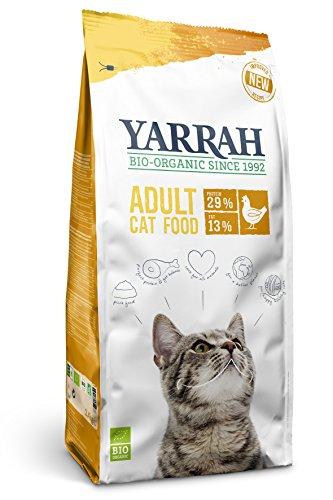 Yarrah Bio Katzentrockenfutter mit Huhn, 1er Pack (1 x 6 kg)