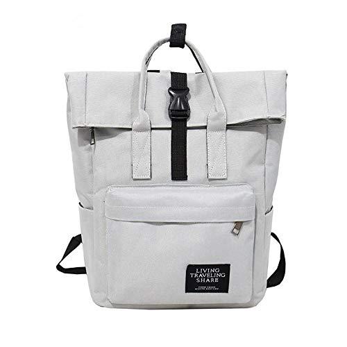 OneMoreT Rucksack für Damen, groß, Segeltuch, Reiserucksack, männlich, Mochila, Escolar, Mädchen, Laptop-Rucksack, Schultasche, Rucksack für Teenager