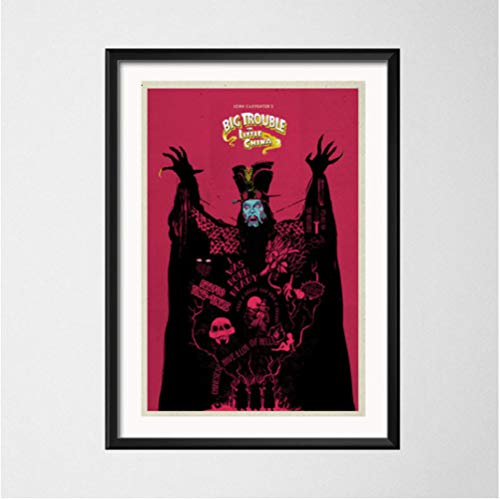 NOBRAND Big Trouble In Little China Classic Movie Art Painting Silk Canvas Poster Wall Home Decor 50 * 70Cm Sin Marco