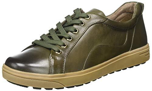 Jana 100% comfort Damen 8-8-23601-25 Sneaker, Olive, 40 EU