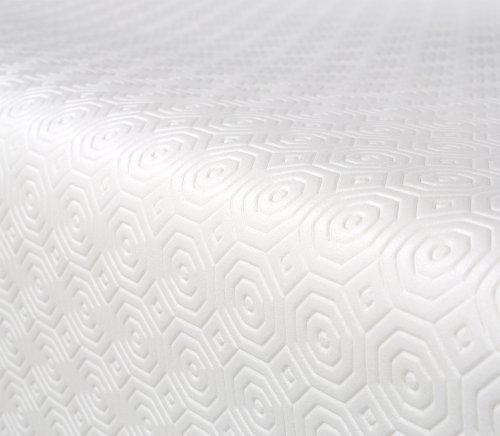 Tischschoner Molton, Schutz, Unterlage Tischdecke, Meterware Größe wählbar, 100x140 cm, Beautex