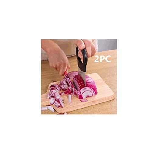 Qmislia - Soporte para pájaros de acero inoxidable, pinza para pájaros y protector de dedos, de acero inoxidable, para verduras de patata, cortador de galletas, 2 unidades