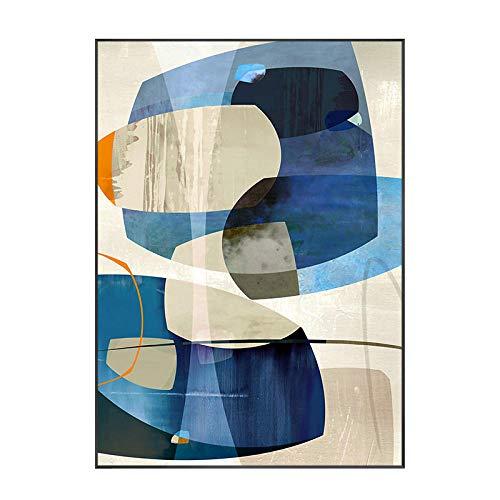 HD Pinturas abstractas de lienzo Cuadros modulares Decoración para el hogar Arte de la pared Simplicidad moderna Sala de estar Restaurante Sofá Fondo Cartel enmarcado 40x60cm