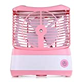 Perfect Home ABS Material Humidifying Fan Spray Fan USB Charging Desktop Small Hydrating