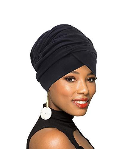 Turban Head Wrap Scarf,African Long Scarf Turban Shawl Hair Bohemian Headwrap
