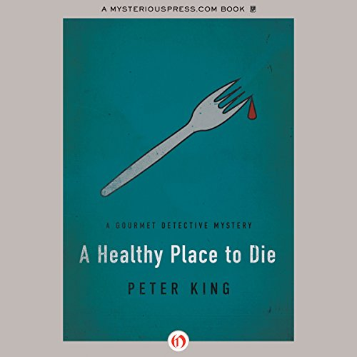 A Healthy Place to Die audiobook cover art