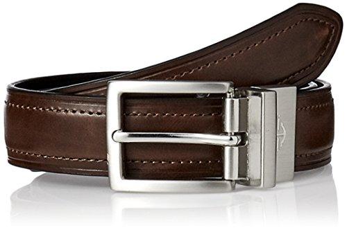 Dockers Men's Big Boys' Dress Reversible Belt,Brown/black,Small/22-24 Inches