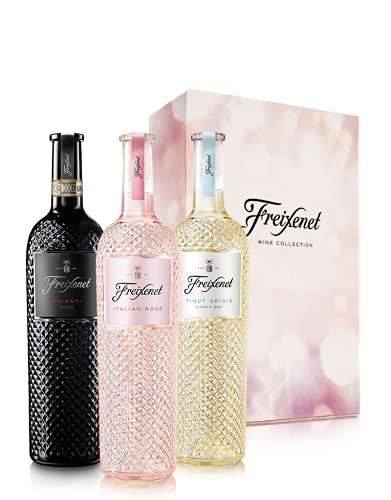 """3er-Paket""""Freixenet Italian Wine Collection"""" in Geschenkbox"""