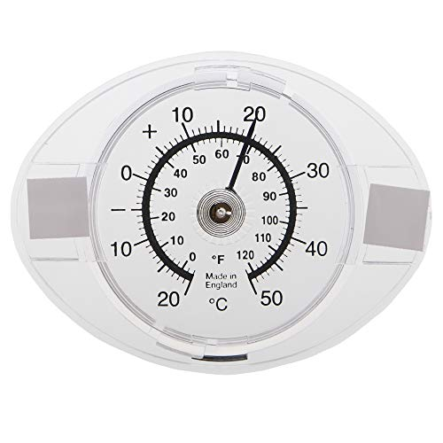 Outside Window Thermometer - Read Outdoor Temperature From Indoors With...