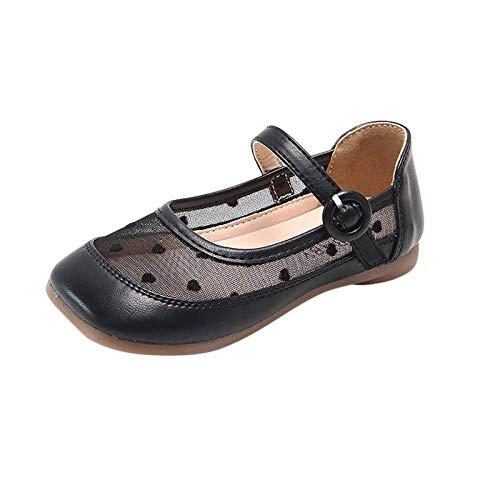 YWLINK Zapatos para NiñOs,NiñAs De Los NiñOs Flores Dulces Zapatos PequeñOs Zapatos De Princesa Zapatos Solos Zapatos Frescos Zapatos De ActuacióN EscéNica,Zapatos De Malla Transpirable