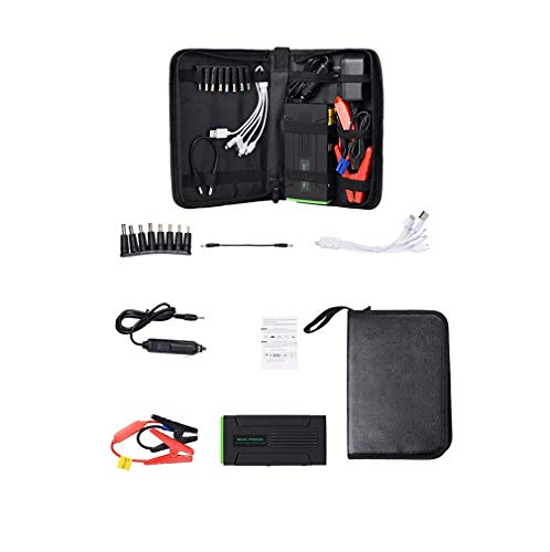 Great Deal! DMQNA Car Jump Starter 600A Peak, 12V 16800Mah Car Battery Booster (Up to 6L Petrol) Por...