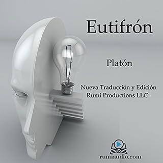 Eutifrón audiobook cover art