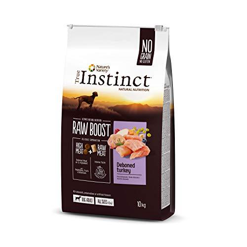 True Instinct Raw Boost - Cibo con tacchino per cani, 10 kg