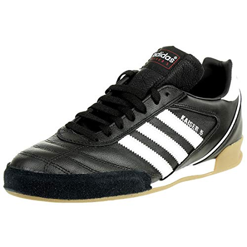 adidas Kaiser 5 Goal Botas de fútbol Hombre, Negro (Black/Running White Ftw), 43 1/3 EU