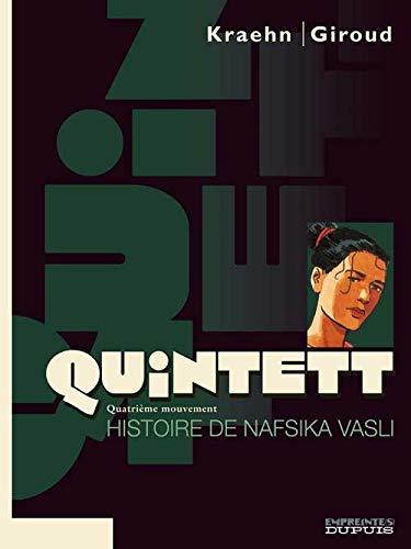 Quintett - tome 4 - Histoire de Nafsika