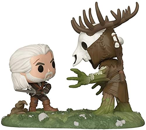 Jokoy Funko Pop Games : Witcher3 - Geralt Vs Leshen 3.75inch Vinyl Gift for Game Fans Chibi