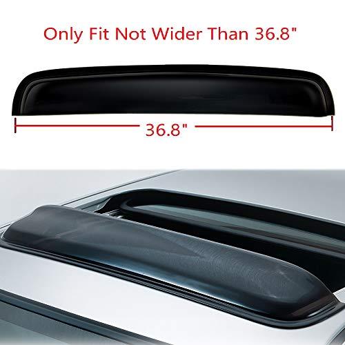 04 trailblazer vent visors - 9