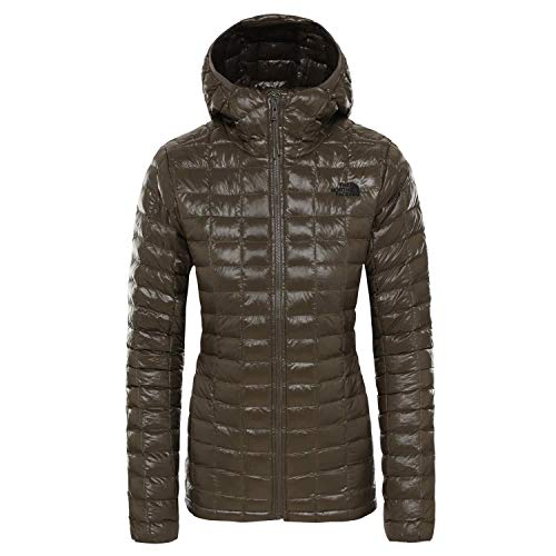 THE NORTH FACE Eco Thermoball Hoodie Jacke Damen New Taupe Green Größe XS 2019 Funktionsjacke