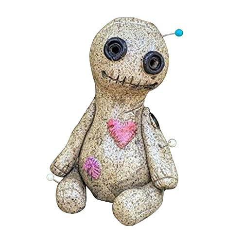 Voodoo Doll Cono Cone Quemador Incienso, diseño de Cono de Incienso de diseño Especial, Quemador de Cono de Incienso, Soporte de Incienso, Escritorio esculpido a Mano Quemador de Resina Estatua