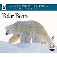 2020 ホッキョクグマ WWF 壁カレンダー カレンダーインク