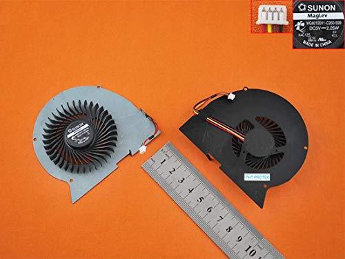 Kompatibel für IBM Lenovo IdeaPad Y510P, Y510PA, Y510PT Lüfter Kühler Fan Cooler