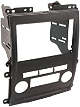 SCOSCHE NN1661B Single or Double DIN Car Stereo In-Dash Install Kit Compatible with 2009-Up Select Suzuki Equator, Nissan Xterra and Frontier XE/LE/SE Vehicles,black