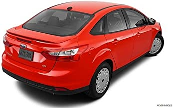 JSP Painted ABS Spoiler Compatible with 2012-2014 Ford Focus Sedan PQ Race Red Factory Style 368042