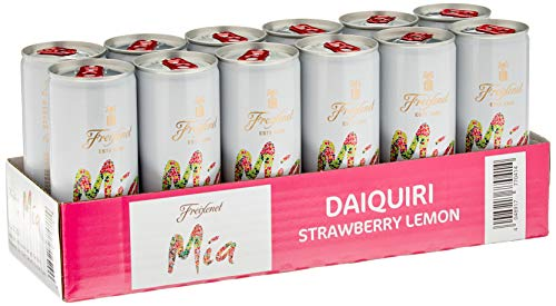 Freixenet Mia Daiquiri Strawberry Lemon -Dose, (12 x 0.25 l)