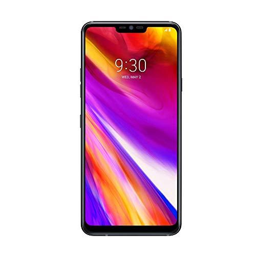 LG G7 ThinQ (LMG710EM.AGBRBK) Sim-Free Smartphone, 6.1-inch QHD+ Display, 4GB RAM, 64GB Storage, Android 8.0 - Black