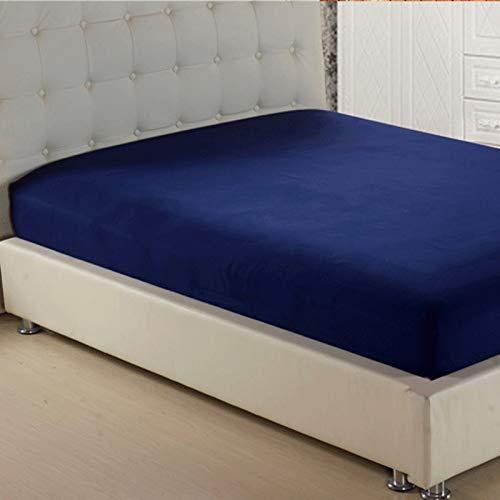 NHhuai Protector de colchón de bambú Funda de colchón y Ajustable Funda de colchón Simple de una Pieza