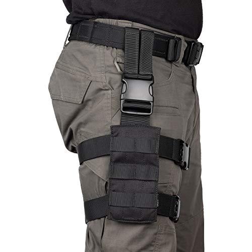 OneTigris Mini Tactical Molle Panel for Pistol Holster (Black)