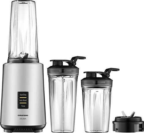 Grundig SM 7680 Personal Power Blender, Acero Inoxidable, Ne
