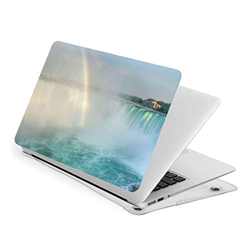 Niagara Waterfalls Rainbow MacBook Air 15 Inch Case Slim Fits with A1707 A1990 Plastic Hard Shell Protective Cover