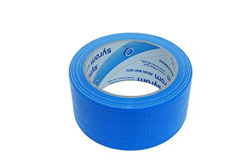 takestop SYR_8430 - Cinta americana resistente de 50 mm x 25 m, extra fuerte, impermeable, sella, reparación, embalaje