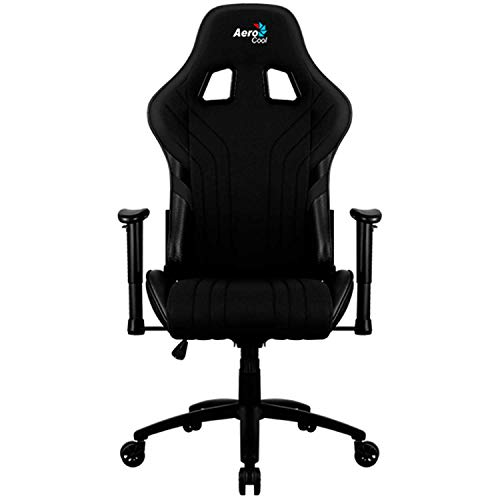 Silla Gaming AEROCOOL Aero 1 Alpha AEROAERO1-ALPHA-B (Black Color)
